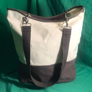 Canvas Crew by thirty-one Tote - Tan and Brown